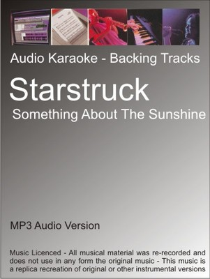 Product picture Starstruck - Something About The Sunshine - Karaoke