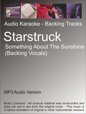Product picture Starstruck - Something About The Sunshine (BV)- Karaoke