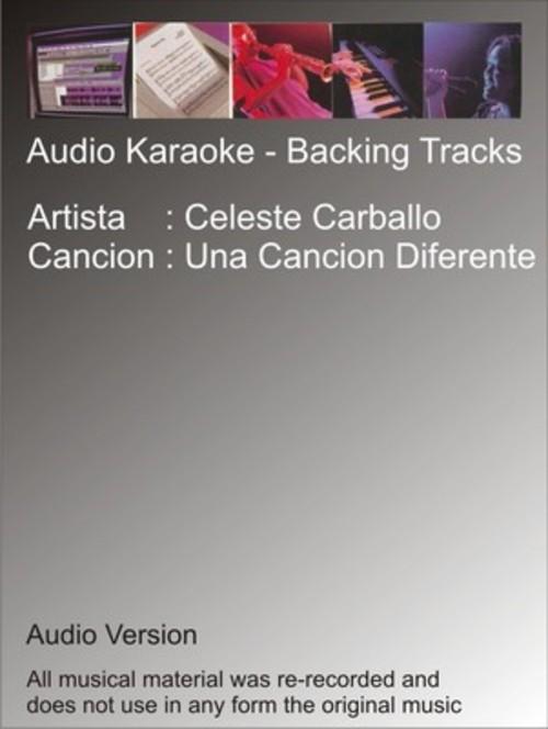 Product picture Celeste Carballo - Una Cancion Diferente - Karaoke