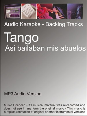Product picture Tango - Asi bailaban mis abuelos - Karaoke