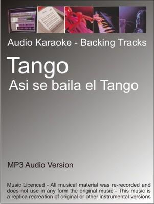 Product picture Tango - Asi se baila el Tango - Karaoke
