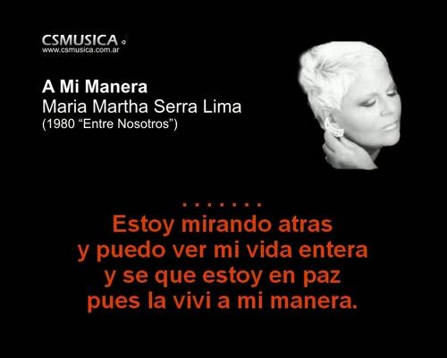 Product picture Maria Martha Serra Lima - A mi manera - karaoke
